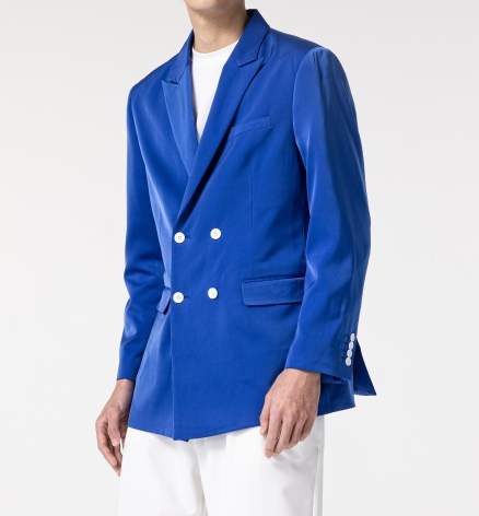 blazer trespassado absolutamente azul royal