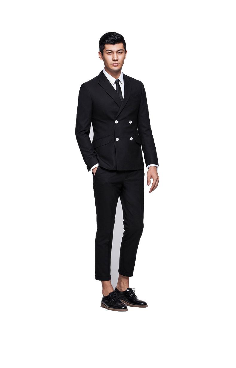Authentic Urban Fashion Business Black Blazer Jacket Pilaeo
