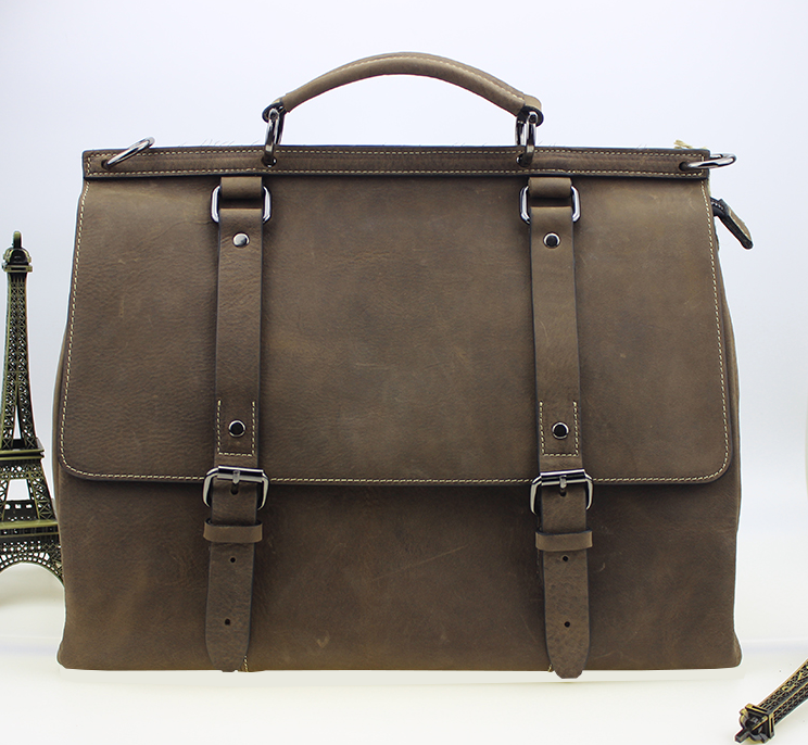 brown satchel briefcase for men -  Suggested from PILAEO Magazine Briefcase Guide