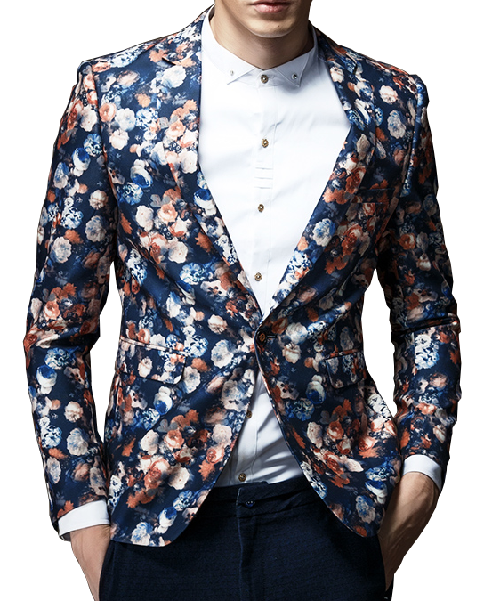 Find mens floral print blazer at ShopStyle. Shop the latest collection of mens floral print blazer from the most popular stores - all in one place.