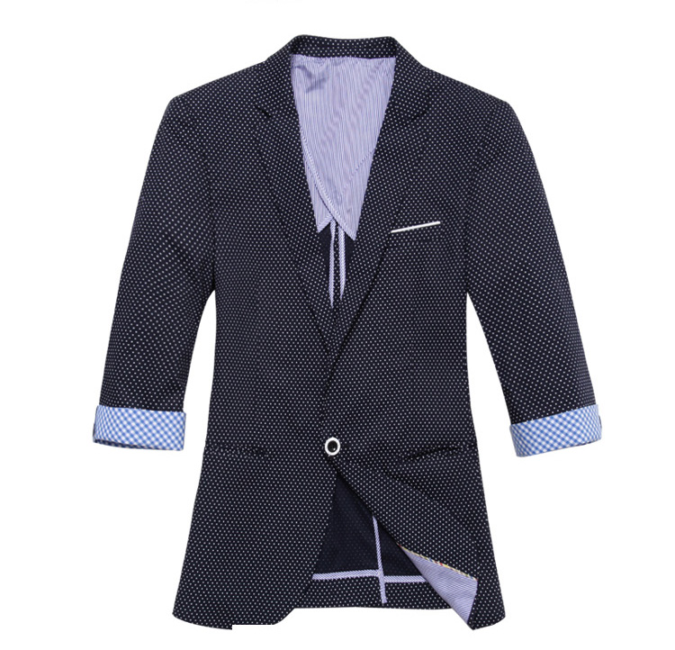 High-end colhida feminina Preto White Point Blazer Jacket