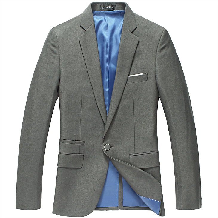 Sophisticated High-end Banquete coreano Celadon Estilo Blazer Ja
