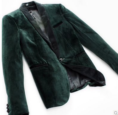 High End Dark Green Velvet Metropolitan Nights Pilaeo