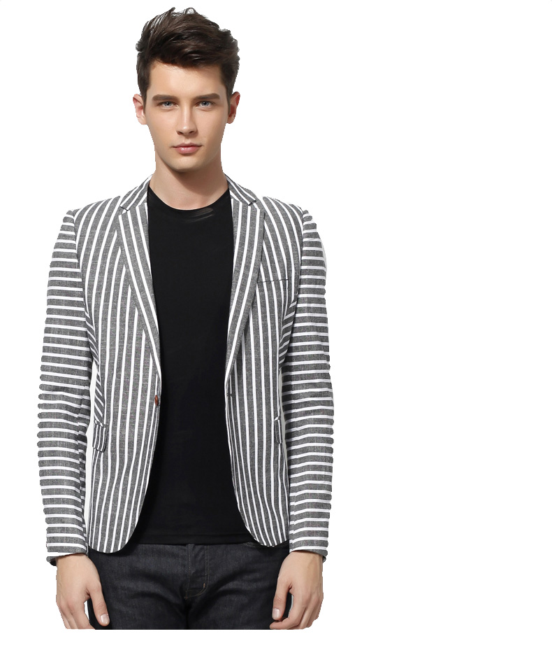 High End Inglaterra coreano Asian Estilo Cinza Blazer Jacket