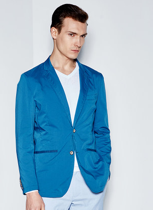 Veste blazer bleu mode paris blue