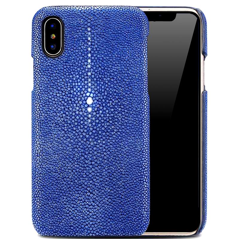 pick up 09540 d6bb4 Sapphire Blue Stingray iPhone X Case