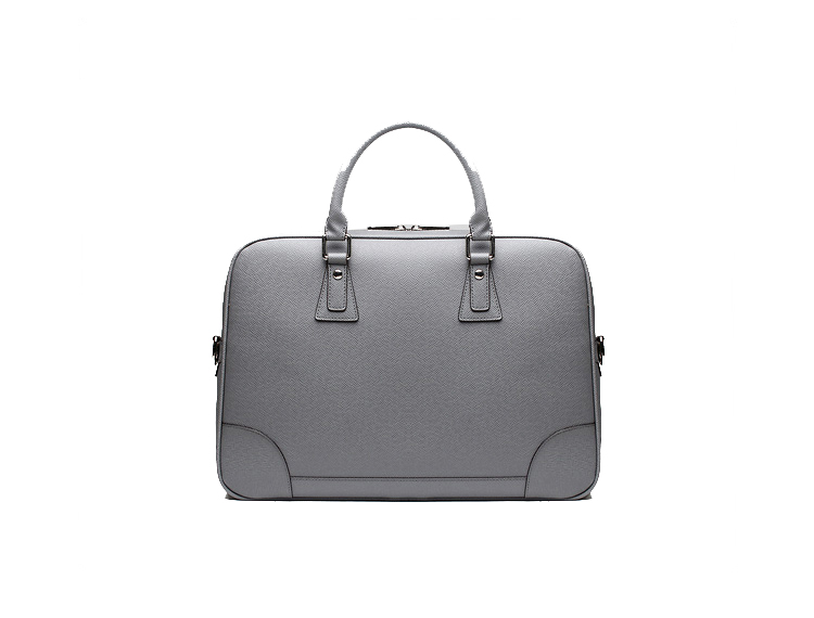 Bandoulière élégant Mens Business Messenger Bag Gris KVOQK1L7PI