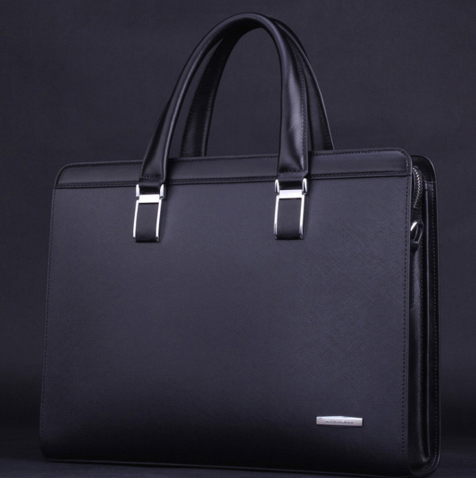 dab81ac830 New Style Mens Business Casual Messenger Black Bag ZADE9QAVPI