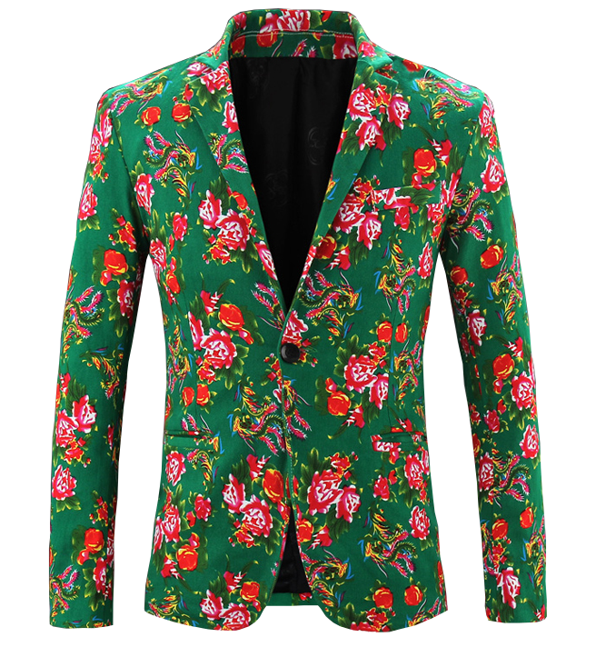 in modernem Stil grünen High-End-Blazer