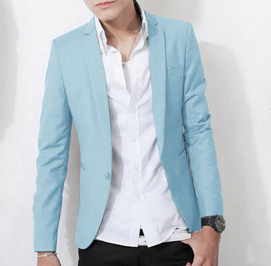 ** High End Casual Blue Sky Blazer