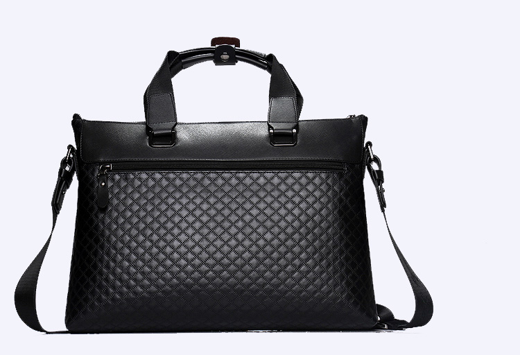 Casual chic affaires Diagonal Croix-Section Bag Black